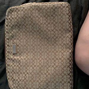 Coach 15 inch laptop bag